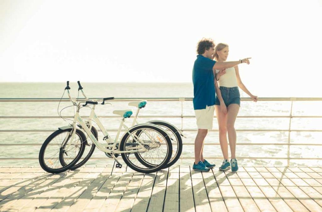 andare in bici a rimini